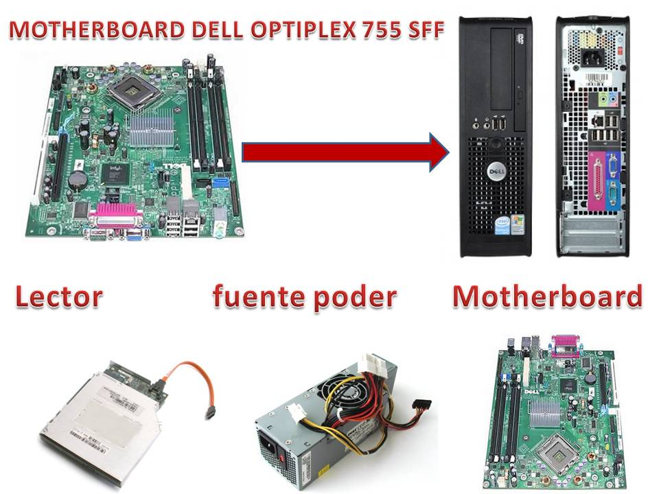 motherboard dell 755 sff
