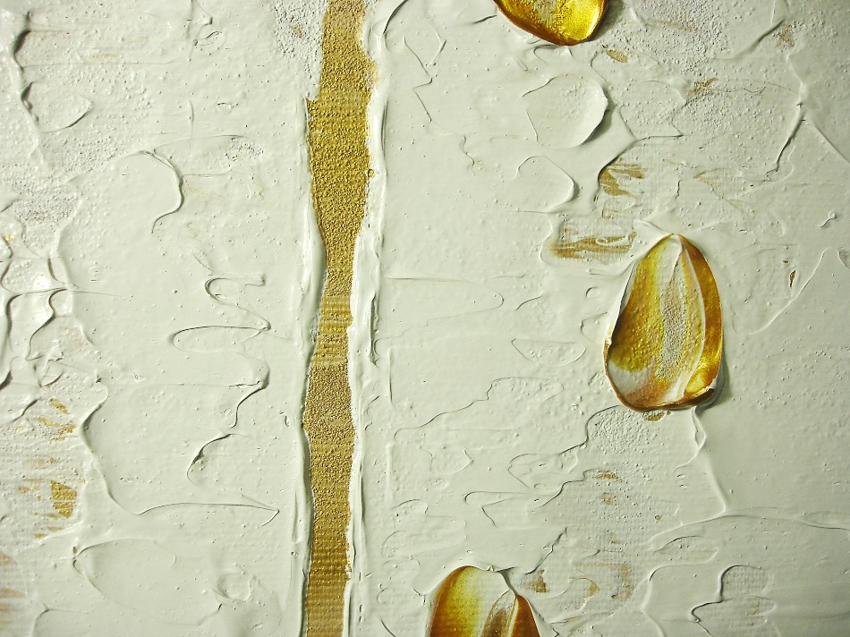 Birken b ume wald moderne acrylmalerei auf leinwand for Moderne kunstdrucke auf leinwand