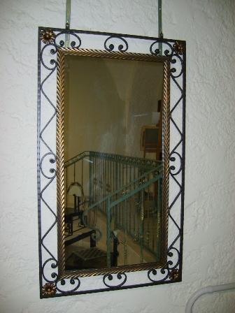 Galleria for Specchio in ferro battuto