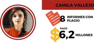 Chile:  Recursos en asesorías que, serian, informes plagiados.
