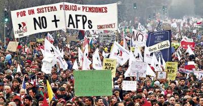 Chile:  Plebiscito nacional  NO + AFP.