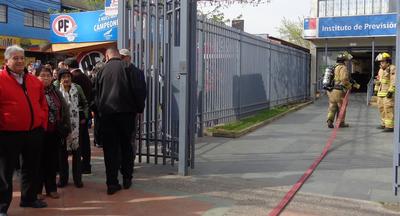 Chile: IPS Maule realizó simulacro de evacuación.