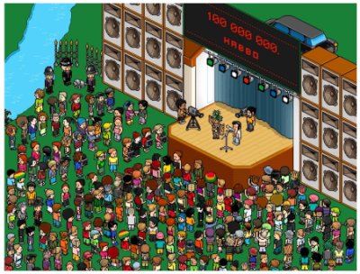 video habbo divertido.