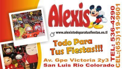 Alexis Todo Para Tus Fiestas