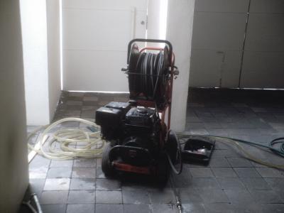 Alta tecnologia en edificacion y saneamiento desazolve Alta trabajador servicio domestico