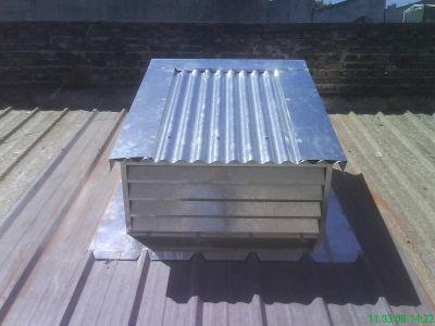 Conductos de ventilacion chapa galvanizada