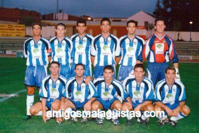 Amigosmalaguistas temporadas temporada 2000 01 for Juan lucas electrodomesticos malaga