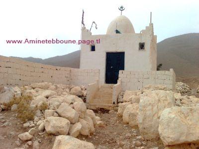 la femme soufite qui s'est réfugiée au creux de la montagne Antar ...