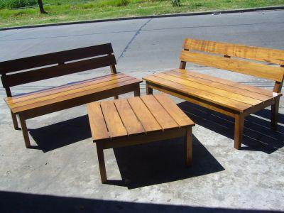 Muebles de jardin muebles de jardin for Bancos para exterior