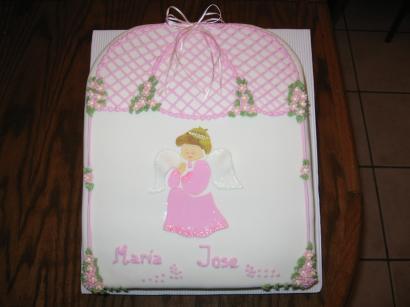 Torta de bautismo para niña - Imagui