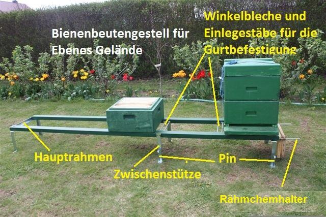 beutenbock gestell f bienenbeute bienenbeuten wandergestell smoker bienenhaus ebay. Black Bedroom Furniture Sets. Home Design Ideas
