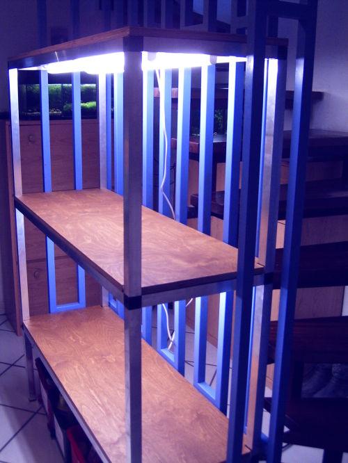 aquarienregal. Black Bedroom Furniture Sets. Home Design Ideas