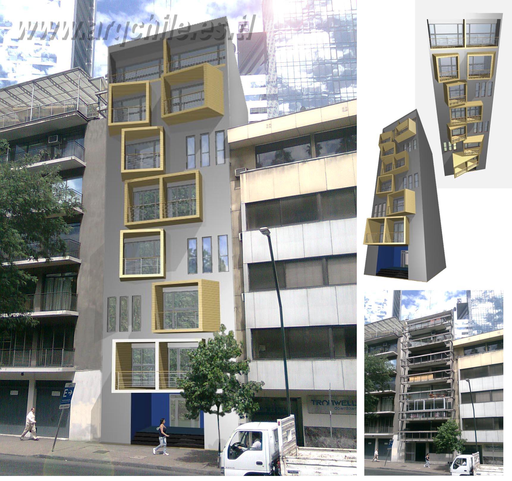 arq2 oficina de arquitectura fotomontajes