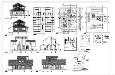 Planos de arquitectura home for Planos de arquitectura de casas pdf