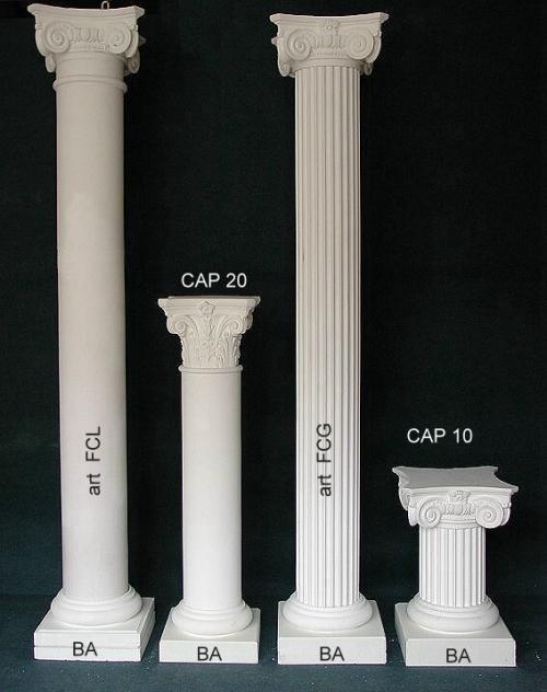 Complementi d 39 arredo catalogo colonne colonnine e lesene for Sia complementi d arredo