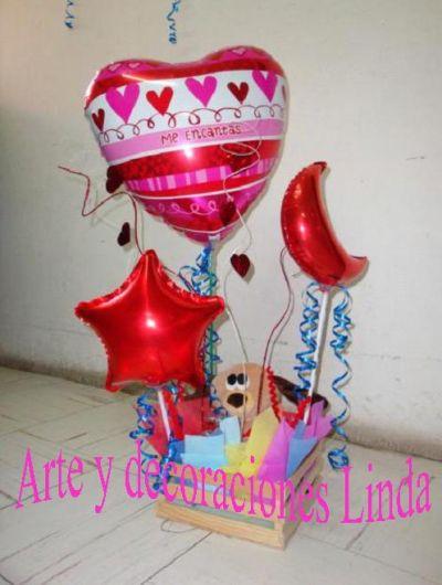 Arte y decoraciones linda arreglos con globos - Arte y decoracion ...