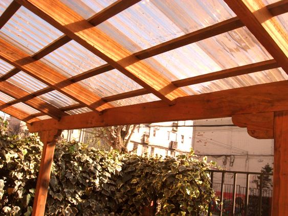 Arte en maderas cobertizo exterior for Cobertizo exterior