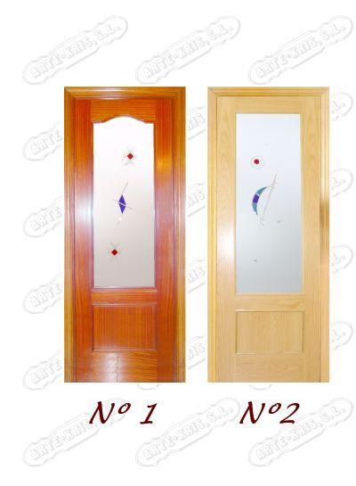 Cristaleria arte kris cristales para puertas - Puertas de interior con cristales ...