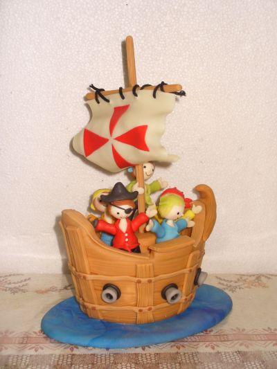 Galeria De Productos   Adornos De Torta   Barco Pirata