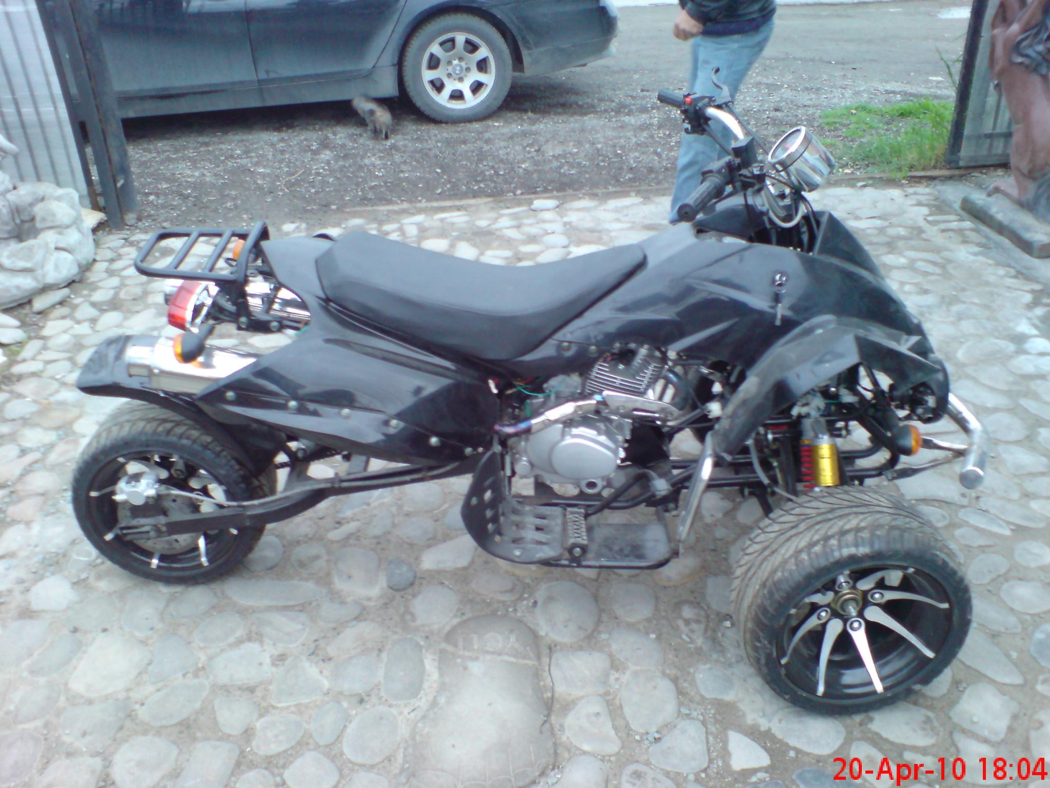 Trike- 250CC Nou-0 KM- jante Al in spite, superdemaraj, superagrsiv.0729680999 mess id crysswald, 1500 euro sau la schimb pe un atv cu cardan si peste 300cc.