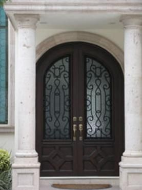 Forja y herreria puertas principales de forja - Puertas forja exterior ...
