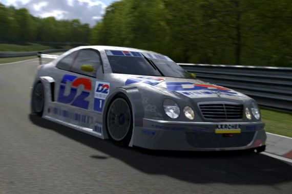 Gran turismo 4 mercedes benz clk touring car 00 for Mercedes benz touring car