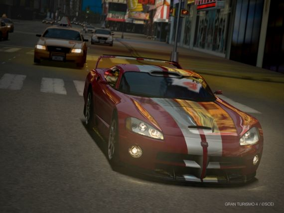Gran Turismo 4 Dodge Viper Gtsr Concept 00