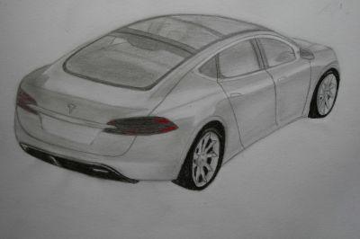Sind die Zeichnungen für den Anfang als Auto-designer gut?
