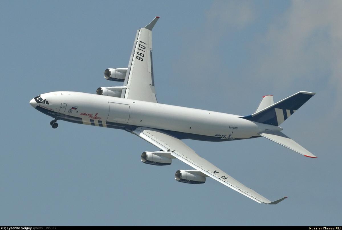 Resultado de imagen de Il-96-400T
