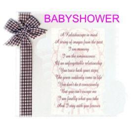 Cómo hacer invitaciones para un baby shower de manera sencilla