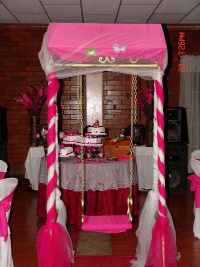 Banquetes correa 15 a os for Silla quinceanera
