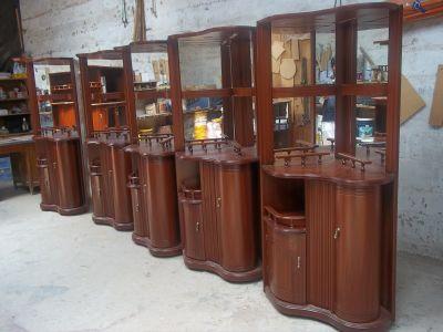 B c muebles galeria de fotos for Bar madera esquinero