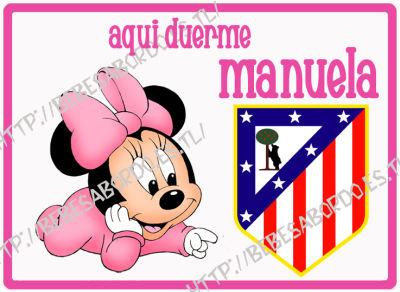 Bart Simpson Atletico De Madrid Ref Habitacion Minnie Bebe Atletico De