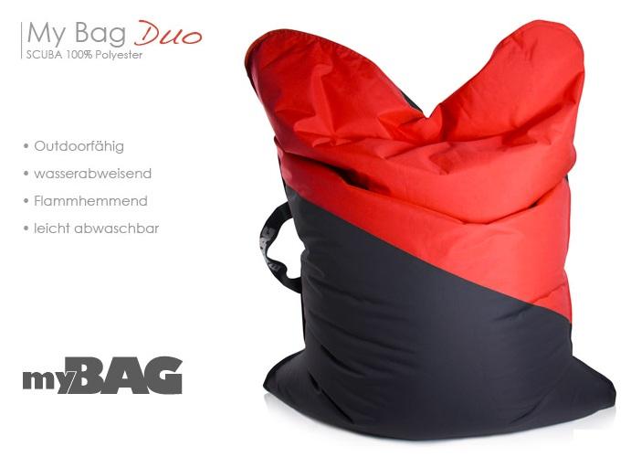 sitting point by magma sitzsack my bag duo scuba xxl 380 l mit tragegriff ebay. Black Bedroom Furniture Sets. Home Design Ideas