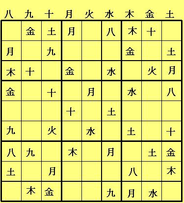 sudoku die zeit