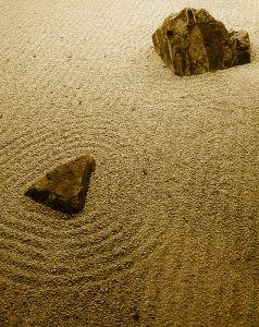 Harmonie und drückt das gefühl des einsseins mit der natur und