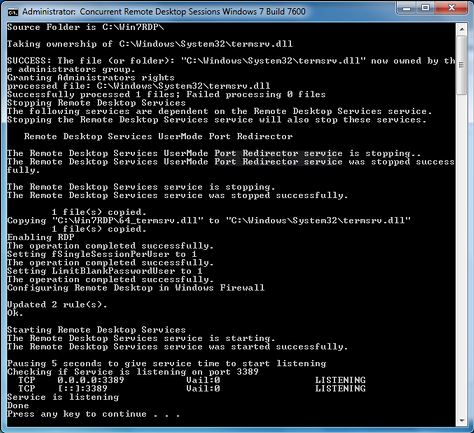 Termsrv dll patch windows 2012 server