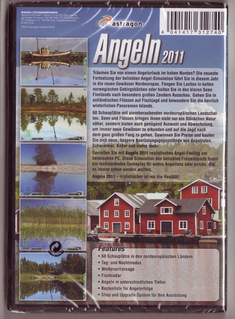 Angeln deutsche flüsse und seen + angeln 2011 sammlung pc spiele