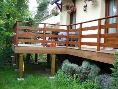 Barriere bois terrasse images - Barriere en bois ...