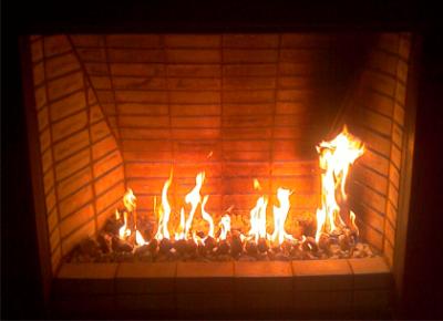 Calefaccion chimeneas - Chimenea de gas natural ...