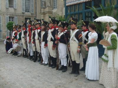 The Regiment at Malmaison 2008