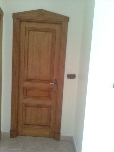 Carpinteria de madera puertas - Empanelados de madera ...