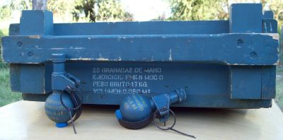 Granada de mano Argentina gme fmk-2