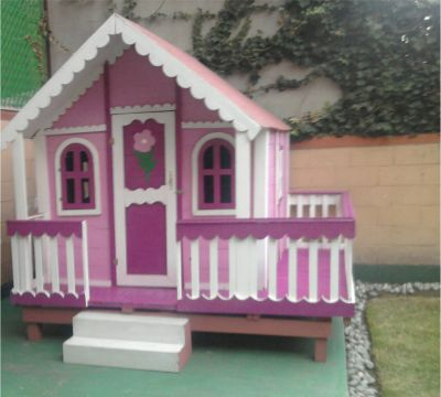 Casitasdemadera home for Casas de juguete para jardin