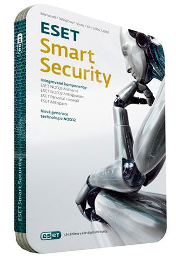 Программное обеспечение Eset Smart Security v.5, 32-bit, Rus, 1pk DVD, 2 ко