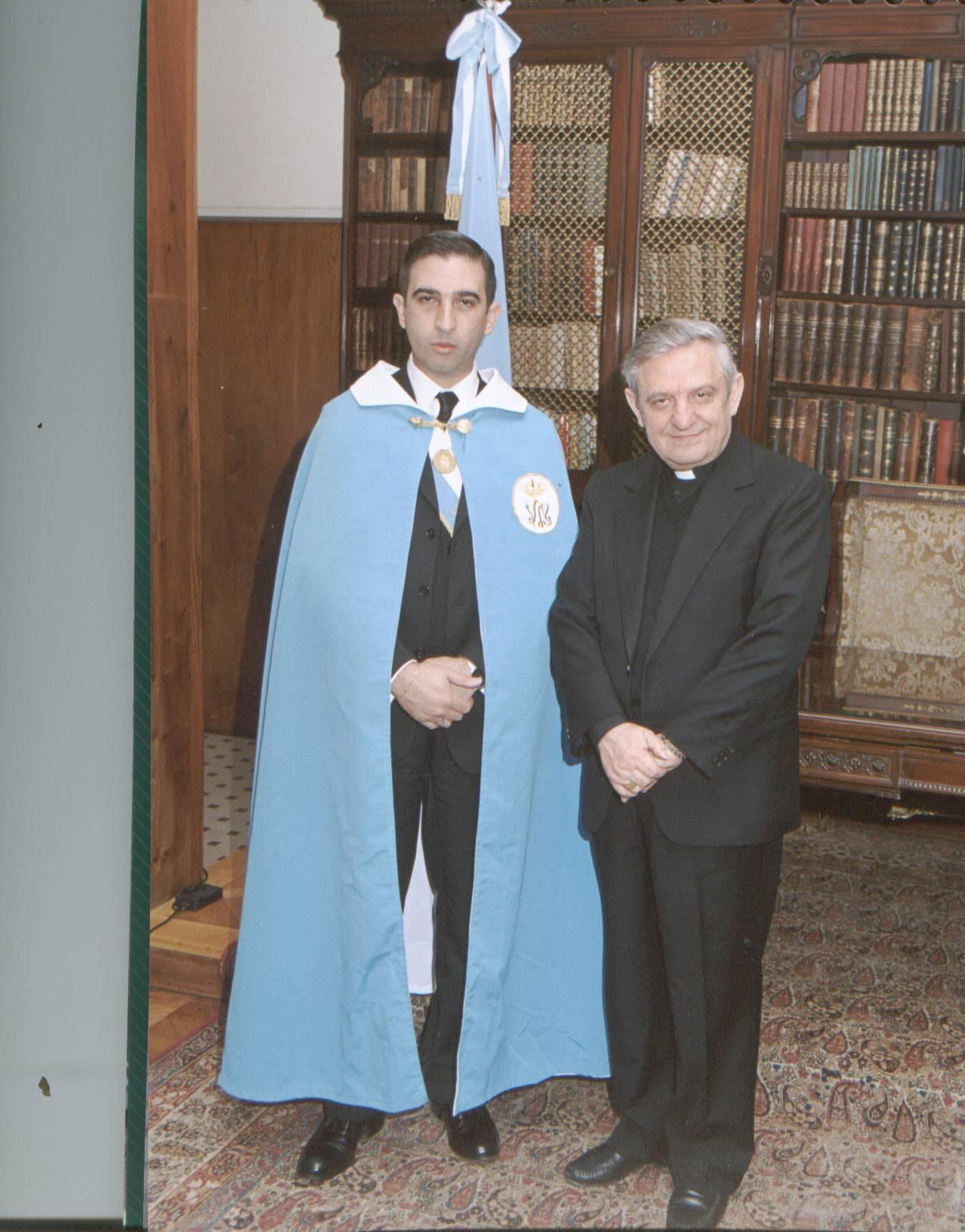 Nuncio Don Adriano Bernardini