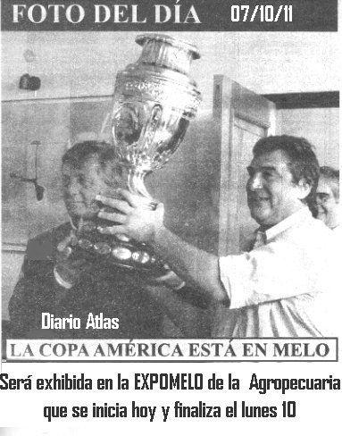 Copa América en Melo