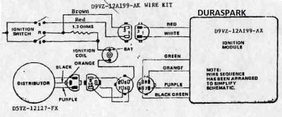 Modulos De Encendido Ford Modulo 1 on wiring diagram for distributor
