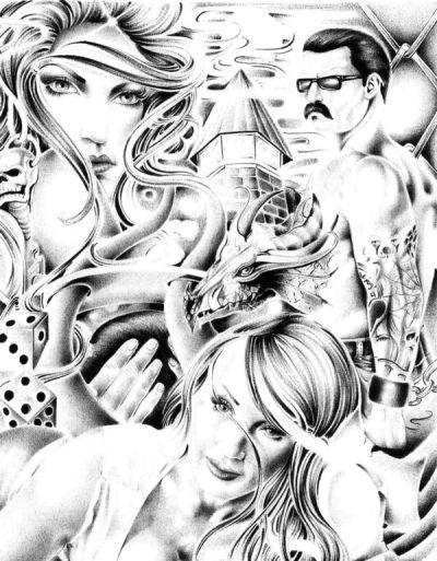 1000 images about g style on pinterest chicano art - Brown pride drawings ...