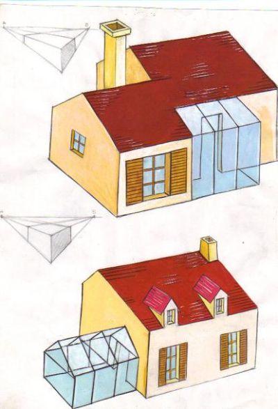 فن التصميــــم - التصميم المعماري  - مستوى 3 ثانوي إعدادي 1a